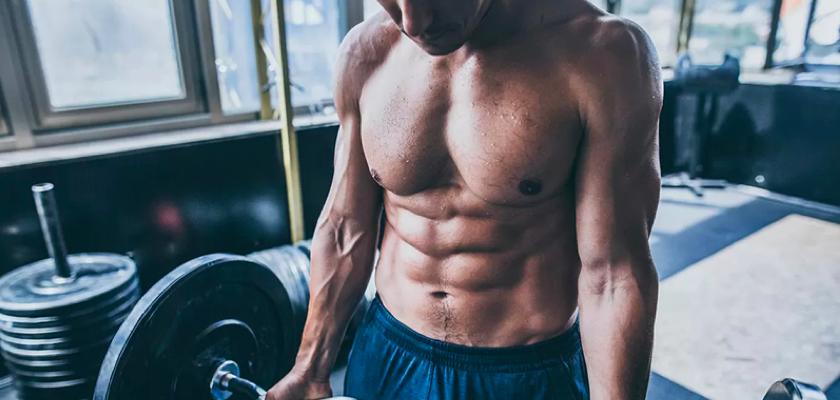 必威体育官网betway杠铃锻炼强有力的核心